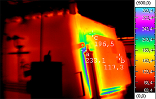localizacion prdidas de frio calor imagen termografica y eficiencia energetica