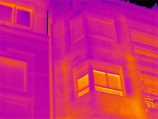 fachada edificio imagen termografica y edificacion inspeccion tecnica de edificios