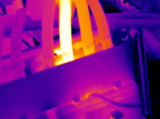 imagen termografica deteccion de fallos en instalaciones electricas